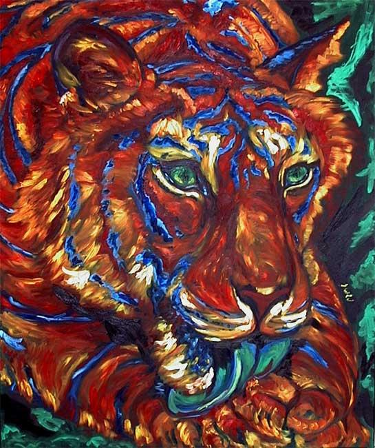 Green-eyed-tiger