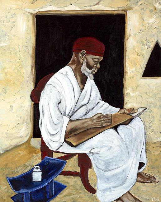 African Schoolteatcher